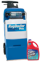 Marvelous Mighty Pro® With Rug Doctor Steam Cleaner