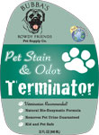 Bubba's Rowdy Friends Pet Stain and Odor Terminator